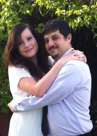 Rebecca Sarel und ihr Mann Roe leben mittlerweile in Frankfurt. (Bild: privat)