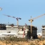 Die Bauarbeiten am neuen KKH in Ashdod sind bereits in vollem Gange – fehlen nur noch die Ärzte (Bild: Presse).