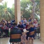 Einige Events, wie diese Lesung der Autoren Katharina Höftmann und Ron Segal finden auf deutsch und hebräisch statt (Bild: Presse)