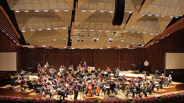 Das philharmonische Orchester Israel (Bild: Jennifer Bligh).