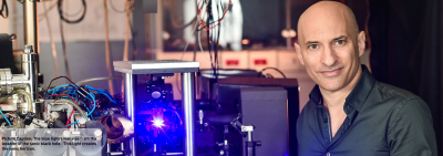Ist er der Israeli, der Hawking seinen Nobelpreis verschafft? Dr. Jeff Steinhauer von der Technion in Haifa (Bild: Technion)