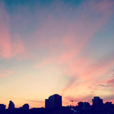 Und dann sind da noch diese Tel Aviver Sonnenuntergänge (Bild: KHC).