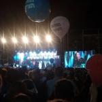 Zur Rabin-Gedenkveranstaltung versammelten sich am Samstag Abend mehrere tausend Menschen in Tel Aviv (Bild: Nahum Ciobotaru).