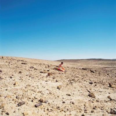 Schweizer Berge und die israelische Wüste, erstaunlich ähnlich bei Naomi Leshem (Bilder: Naomi Leshem).