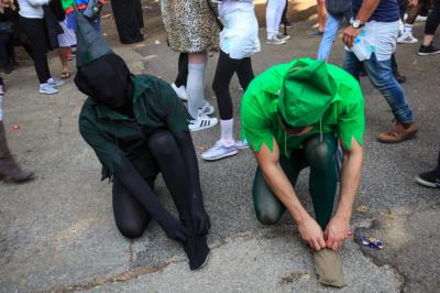 Peter Pan hat seinen Schatten offensichtlich gefunden. (Bild: Edward Shtern)