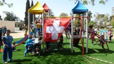 Kinderspielplatz Kibbutz Magen Schweizer Spenden