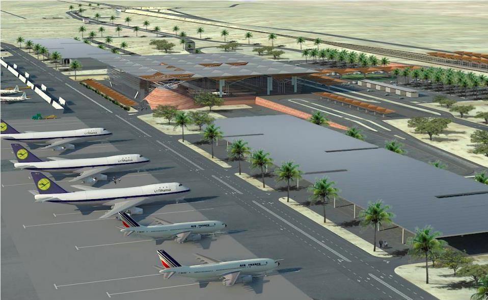 Der neue Ramon-Flughafen in Eilat wurde von israelischen Architekten designt (Bild: IAA)
