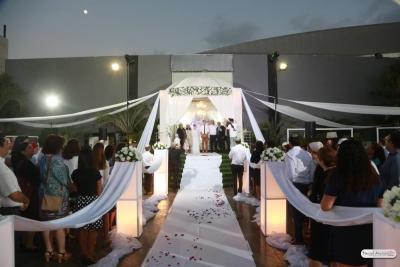 Eine Hochzeit in Israel unter der traditionellen Chuppa (Bild: privat).