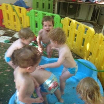 Lärm und Durcheinander sind in Israel an der Tagesordnung – vielleicht passen auch Kinder deswegen so gut ins Land (Bild: privat).