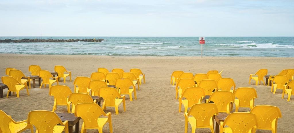 Der Tel Aviver Strand gehört zu den Lieblingsmotiven von Ido Biran (Bild: Ido Biran)