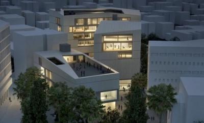 Das geplante Kunstzentrum mitten in Jerusalem (Bild: UJA-Federation of New York.)