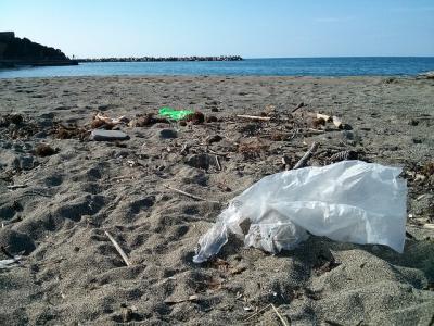 Nicht wenige der genutzten Plastiktüten landen am Ende im Meer – eine unglaubliche Umweltverschmutzung (Bild: Sebastian Kauer/Flickr).
