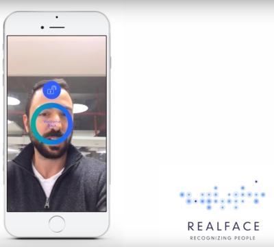 RealFace erleichtert Log-ins durch Gesichtserkennung (Bild: Screenshot aus Demo Video des Unternehmens).